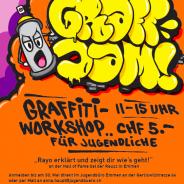 Graff-Jam an der Hall of Fame mit Graffiti-Workshop