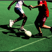 Street Soccer im Freibad Mooshüsli