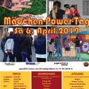 Mädchen-Power-Tag, Samstag 6. April 2019