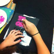 Shirt Print im Jugendbüro mit GirlPower!