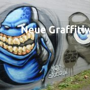 Neue Graffitiwände