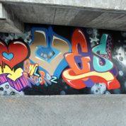 Graffiti im Rüeggi
